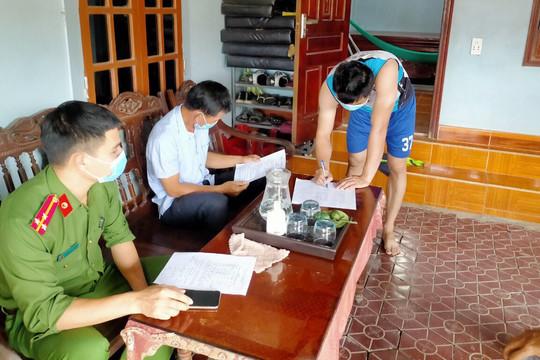 Hà Tĩnh: Phạt 20 triệu đồng 3 người không chấp hành cách ly y tế tại nhà