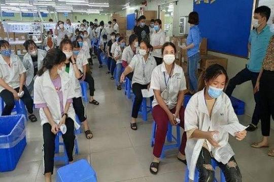 30.000 công nhân từ Bắc Giang sẽ về các tỉnh thành trên cả nước từ ngày mai