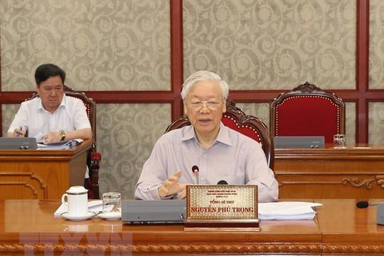 Tổng bí thư Nguyễn Phú Trọng: Tất cả tập trung cao nhất cho phòng chống dịch