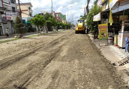 Cà Mau: Đơn vị thi công quốc lộ 63 lên tiếng về chất lượng đá trải đường