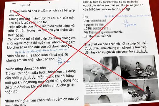 Hà Tĩnh: Đăng thông tin sai về khu cách ly, một phụ nữ bị phạt 5 triệu đồng
