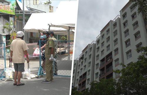 Phong tỏa toàn bộ chung cư Ehome 3 ở TP.HCM, lấy mẫu xét nghiệm 7.600 người