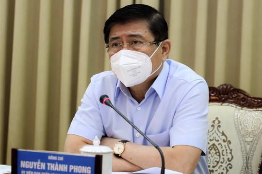 Ngày càng có nhiều ca nhiễm không rõ nguồn lây, Chủ tịch TP.HCM đề ra 5 giải pháp chống COVID-19