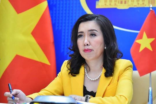 Tàu trinh sát và máy bay Trung Quốc hiện diện trái phép ở Biển Đông, Bộ Ngoại giao nói gì?
