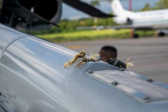Trực thăng chở Tổng thống Colombia bị tấn công