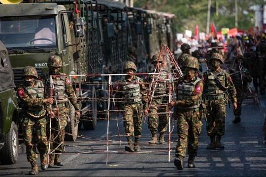 Quân đội Myanmar cấm báo nước ngoài dùng từ 'chính quyền quân sự'