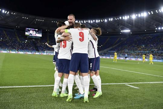 Hạ gục Ukraine 4-0, tuyển Anh vào bán kết Euro 2020