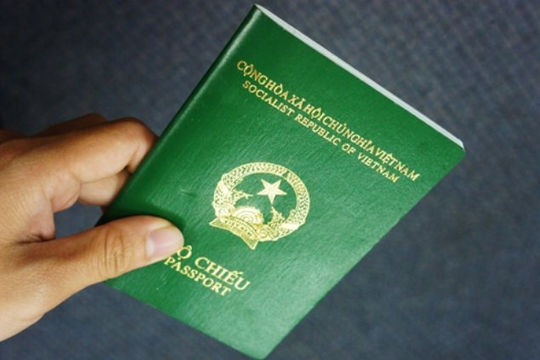 Từ 14.8, cấp hộ chiếu mới sẽ gắn chip điện tử