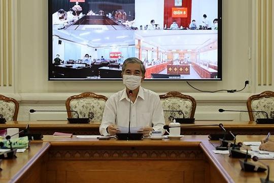 Phó chủ tịch TP.HCM: Việc xét nghiệm và truy vết cần làm lại khoa học hơn, các quận huyện  bình tĩnh