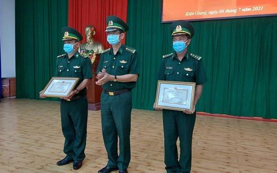 Kiên Giang: Lực lượng biên phòng khen thưởng cho 5 tập thể và 29 cá nhân