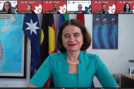 22 nhà lãnh đạo trẻ tham gia Đối thoại lãnh đạo trẻ Úc - Việt Nam 2021