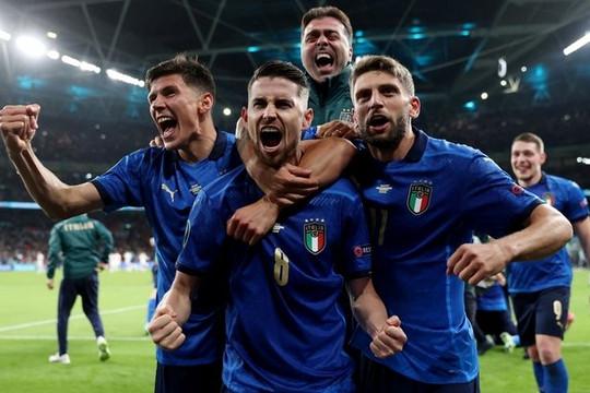Đánh bại Tây Ban Nha ở loạt đá luân lưu, Ý vào chung kết Euro 2020