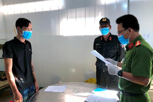 Cà Mau: Khởi tố, bắt tạm giam kẻ chống người thi hành công vụ trong khu cách ly