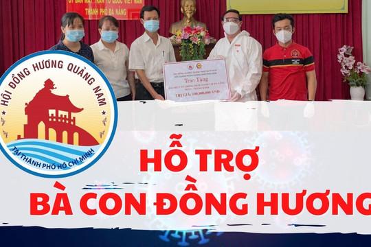 Quảng Nam: 'Giải cứu' người dân tại vùng dịch TP.HCM về quê