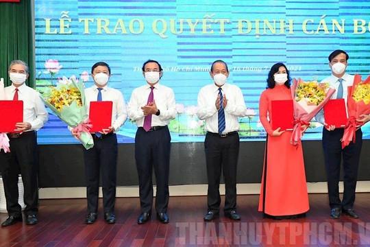 Ông Nguyễn Thành Phong được Thủ tướng phê chuẩn chức vụ Chủ tịch UBND TP.HCM, nhiệm kỳ 2021-2026