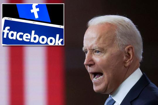 Bị ông Biden tố 'đang giết người' vì cho đưa tin sai lệch về vắc xin COVID-19, Facebook phản pháo