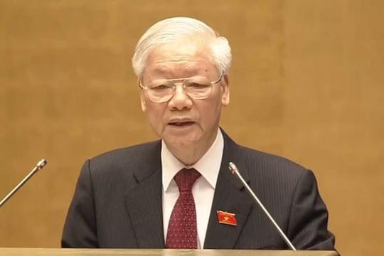 Tổng bí thư Nguyễn Phú Trọng: Các ĐBQH cần hết lòng vì nước, vì dân