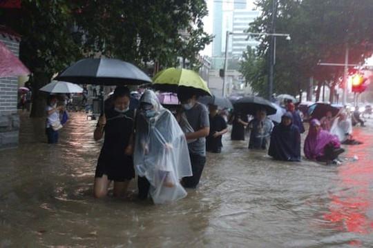 Lũ lụt chết người ở Trung Quốc, gây ảnh hưởng đến hàng chục triệu người