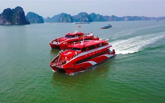 Khai trương tuyến tàu cao tốc Tuan Chau Express từ Hạ Long đi Cô Tô