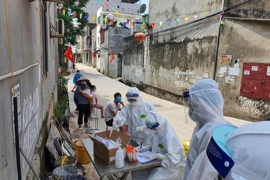 Hà Nội thêm 6 ca mắc COVID-19 trong cộng đồng tại quận Hoàng Mai