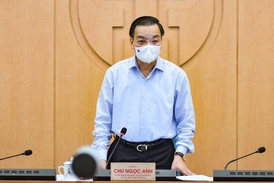 Chủ tịch Hà Nội kêu gọi người dân khai báo y tế, giám sát cộng đồng