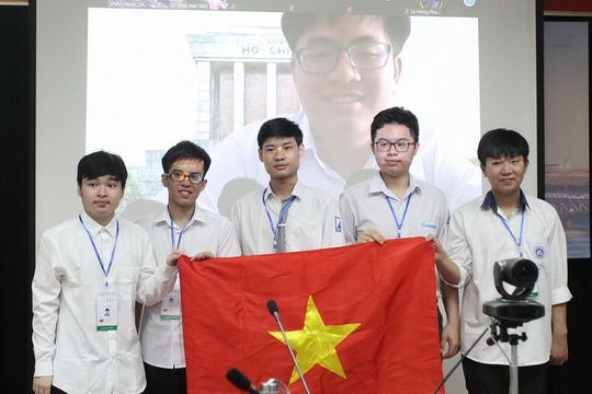 Giành 6 huy chương Olympic toán học, Việt Nam xếp thứ 5 châu Á, nhất ASEAN