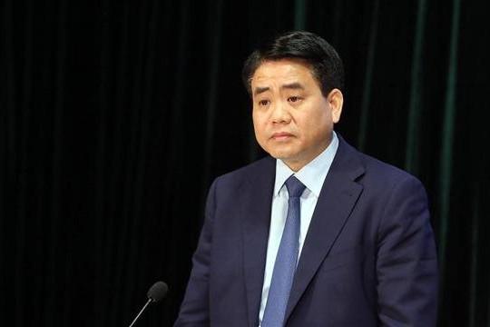 Bộ Công an khởi tố bị can với cựu Chủ tịch UBND TP.Hà Nội, Nguyễn Đức Chung