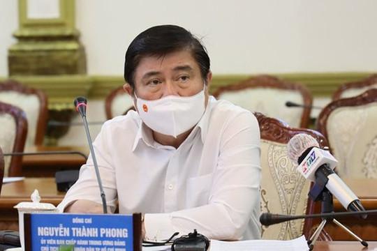 Chủ tịch TP.HCM: Từ ngày 26.7, người dân không ra đường sau 18 giờ