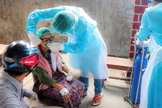 Đại sứ Anh tại LHQ: 27 triệu/54 triệu dân Myanmar có thể mắc COVID-19 trong 2 tuần tới