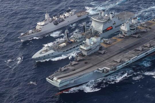 Anh tính toán gì khi cho nhóm tác chiến tàu sân bay Queen Elizabeth vào Biển Đông?