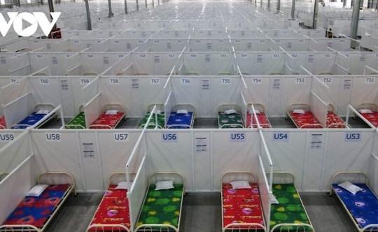 Bình Dương hoạt động thêm 2 bệnh viện dã chiến 8.300 giường