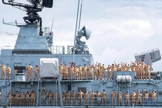 Anh vừa đi, Đức đã đến Biển Đông bất chấp thái độ của Trung Quốc
