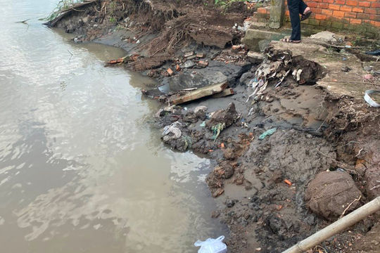 Bến Tre đầu tư 110 tỉ đồng, khẩn cấp khắc phục sạt lở bờ sông, bờ biển