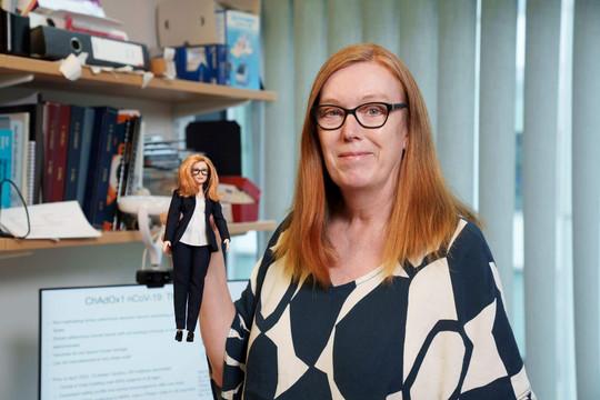 Barbie ra mắt dòng búp bê vinh danh người góp phần tạo ra vắc xin phòng COVID-19