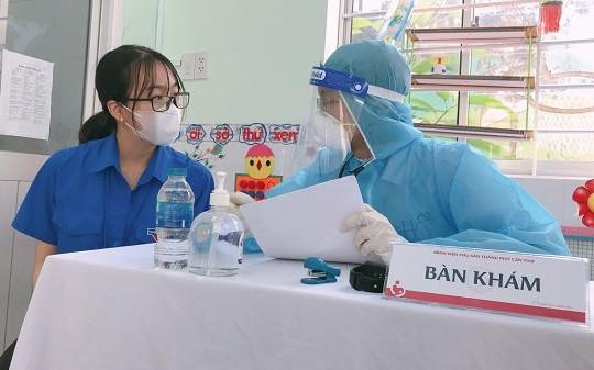 Bệnh viện Phụ sản Cần Thơ tổ chức chu đáo tiêm chủng vắc xin phòng COVID-19 đợt 4