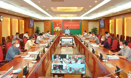 UBKT Trung ương kỷ luật hàng loạt lãnh đạo và nguyên lãnh đạo Hà Nội