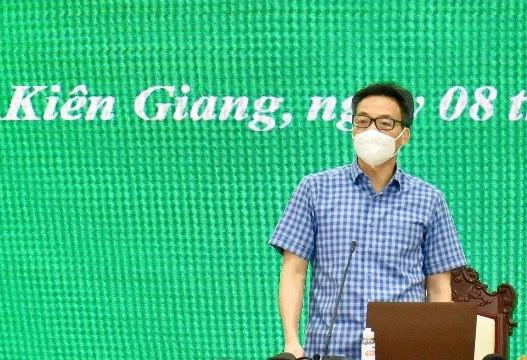 Phó thủ tướng: Kiên Giang có thể cùng các tỉnh Nam Sông Hậu thiết lập vùng xanh