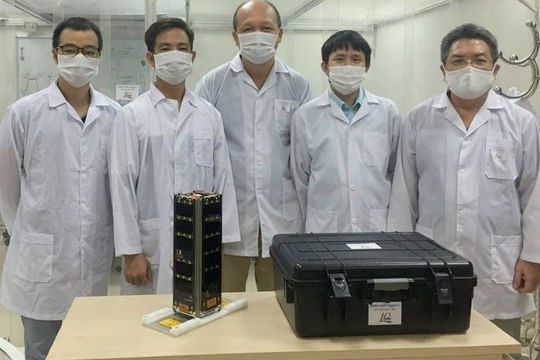 Vệ tinh của Việt Nam được gửi sang Nhật Bản, chuẩn bị phóng lên quỹ đạo