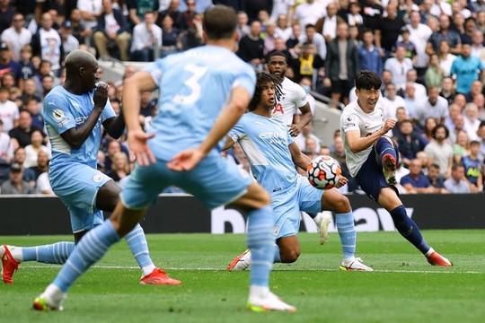 Son Heung-min giúp Tottenham đánh bại Man City ngày tân binh 100 triệu bảng nhạt nhòa