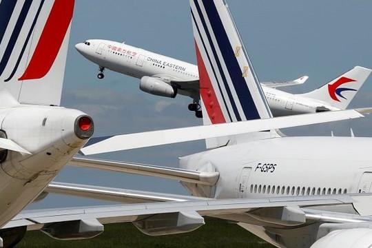 Mỹ - Trung căng thẳng vấn đề hạn chế sức chứa hành khách đi máy bay