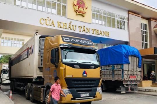 Gỡ khó cho xuất khẩu hàng Việt qua biên giới Trung Quốc