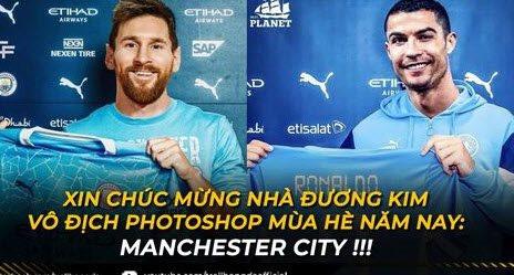 Manchester City xứng danh nhà vô địch Photoshop, Bruno Fernandes có buồn khi nhường Ronaldo đá penalty?