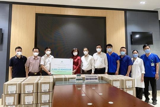 Đà Nẵng tiếp nhận 5.000 lọ thuốc Remdesivir điều trị COVID-19