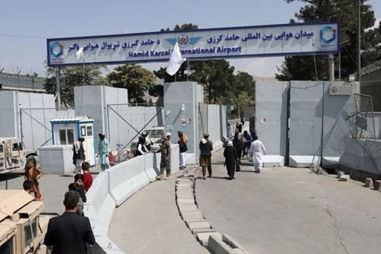 Sân bay Kabul hoạt động trở lại