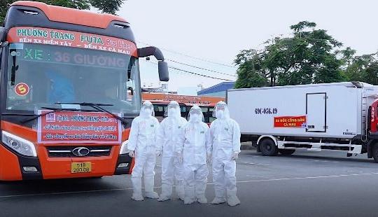 Bạc Liêu sẽ đón 257 công dân ở TP.HCM về địa phương tránh dịch