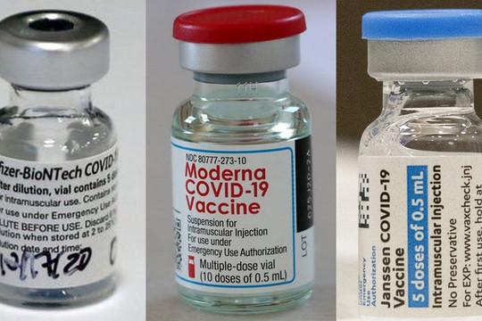 Vắc xin Moderna ngăn ngừa nhập viện hiệu quả nhất, vắc xin Pfizer cho lứa 5-11 tuổi sắp được Mỹ cấp phép