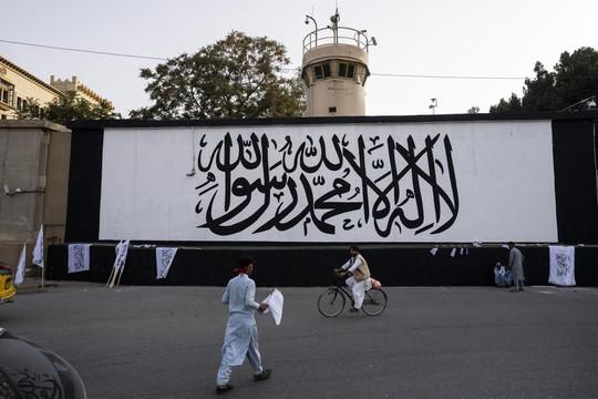 Taliban treo cờ ở dinh tổng thống Afghanistan đúng ngày 11.9