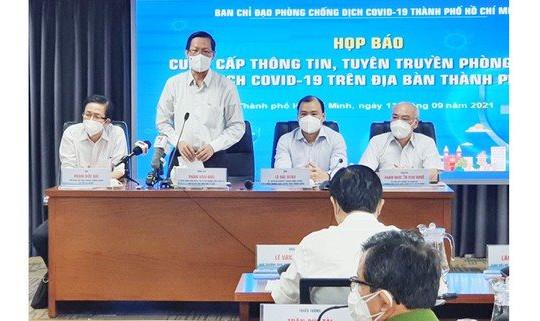 TP.HCM: TP tiếp tục giãn cách xã hội theo Chỉ thị 16 đến cuối tháng 9