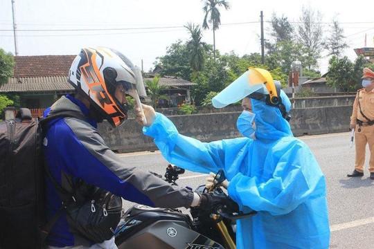 Quảng Trị: Kiểm soát chặt người trở về từ huyện Phong Điền (TT Huế)