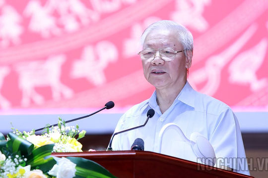 Tổng bí thư Nguyễn Phú Trọng: Cán bộ nội chính phải có đôi chân vững chắc và bàn tay sạch